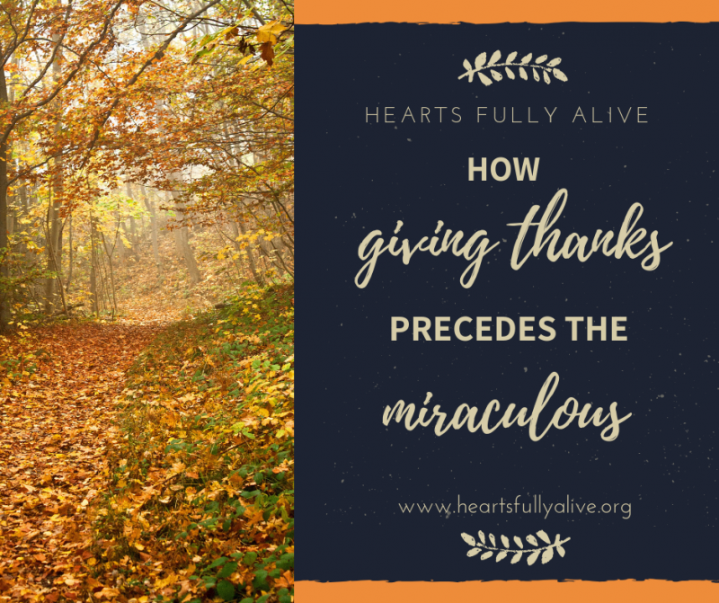 Giving thanks post