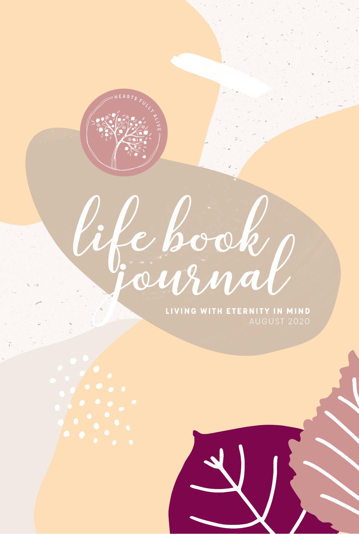 August Life Book Journal
