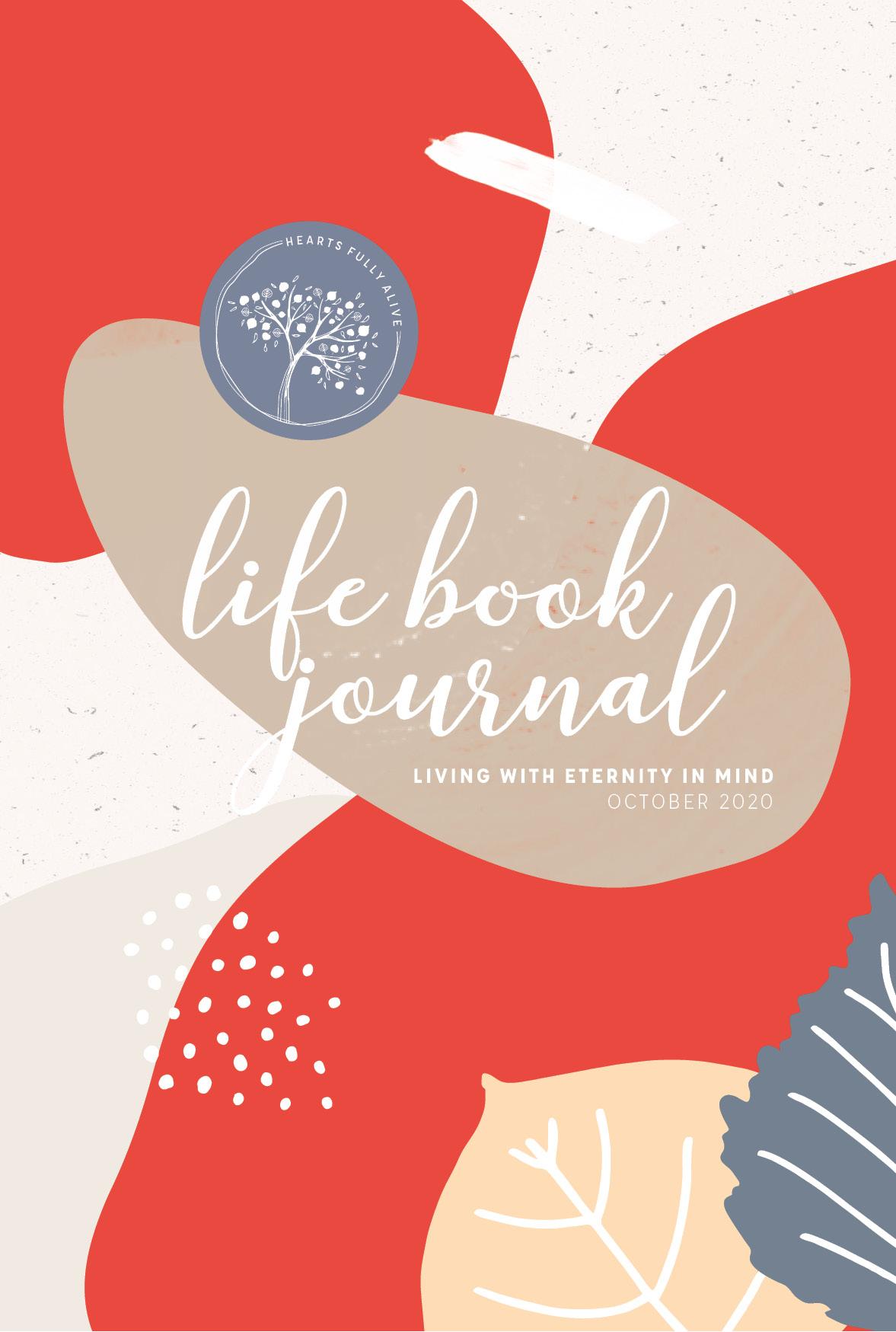 October Life Book Journal